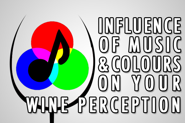 does music and color effect the way you drink wine