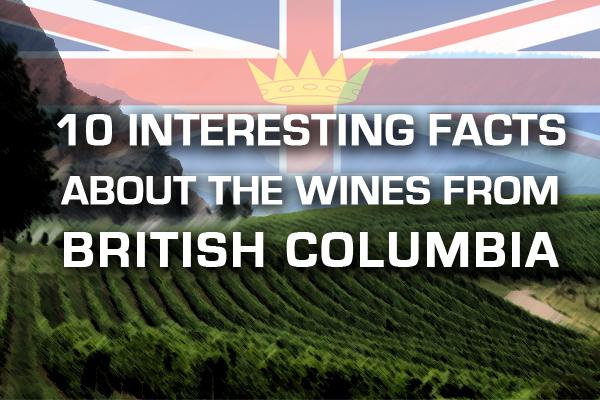 British Columbia BC wine wines
