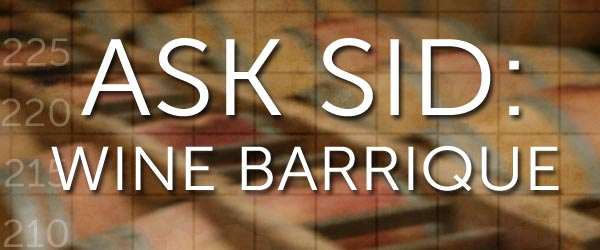 what is a barrique barrel wine oak