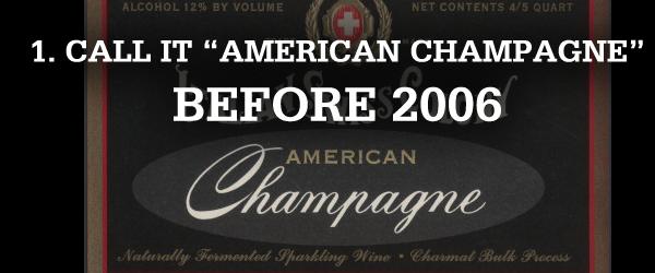 american champagne