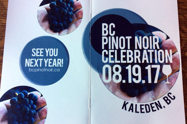 BC Pinot Noir Celebration
