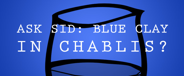 Blue Clay in Chablis wine?