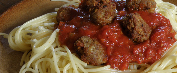 spaghetti and meatballs what wine to pair with