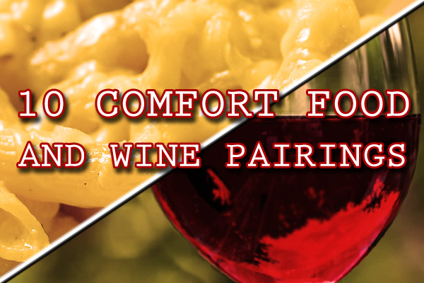 pairing wine with comfort food