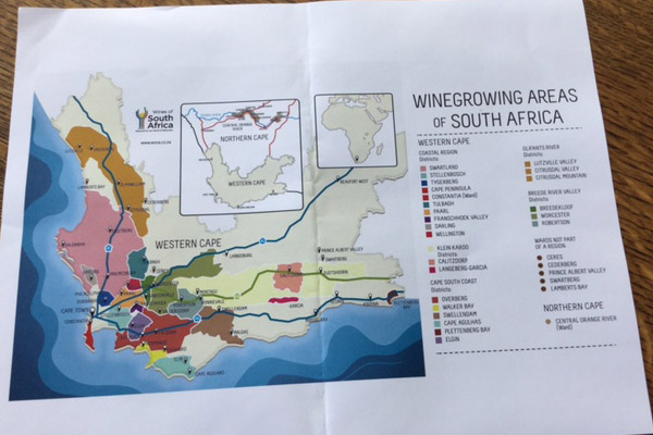 Unique Wine Growing Areas of South Africa - Try Chenin Blanc!