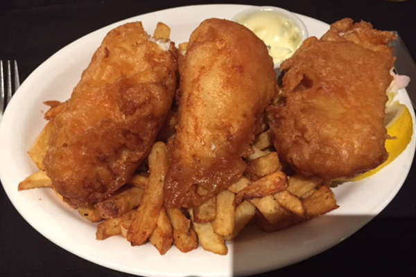 Newfoundland fish and chips
