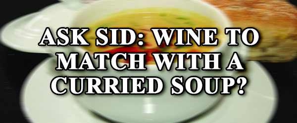 what wine goes with curry soup