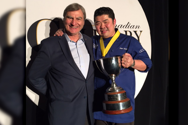 Chef Alex Chen of Boulevard in Vancouver Wins Canadian Culinary Championships Gold with Impressive Dishes!