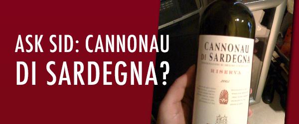 wine grenache Cannonau di Sardegna?
