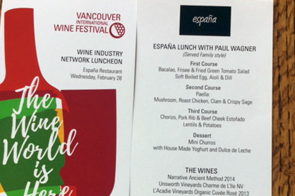 Restaurants Play a Key Role in Continuing Success of Vancouver International Wine Festival