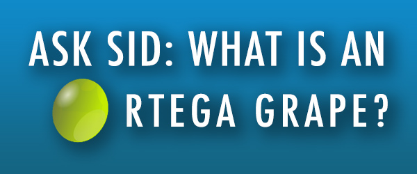 Ask Sid: What is an Ortega grape?