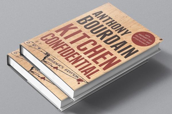 Kitchen Confidential book