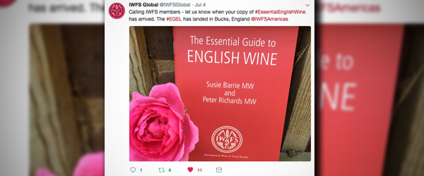 "Ask Sid: What is the social media for IWFS Monograph ""The Essential Guide to English Wine""?"