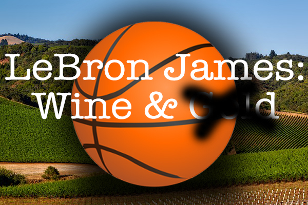 LeBron James wine passion interest