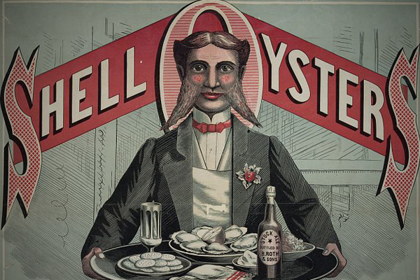 oysters 1800s craze