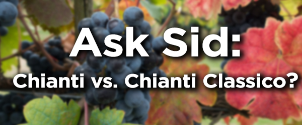 what's the difference between chianti and chianti classico