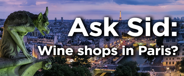 where to buy wine in Paris