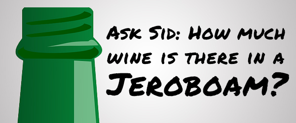 How much wine is there in a Jeroboam?